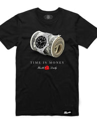 Hasta Muerte - Black Time Is Money Tee