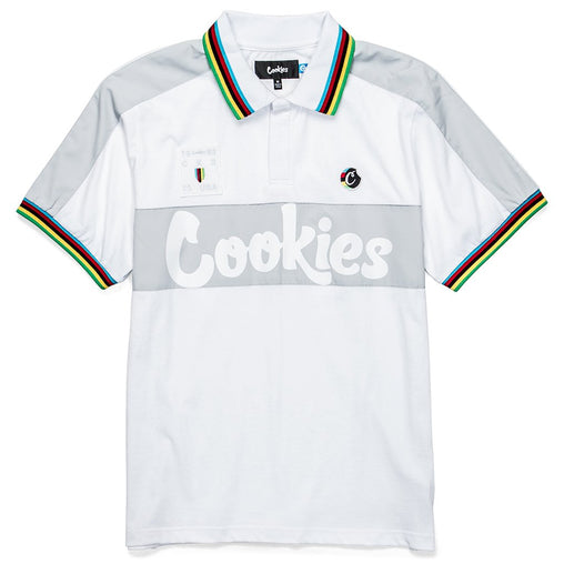Cookies - White Tour De Fire Jersey Polo