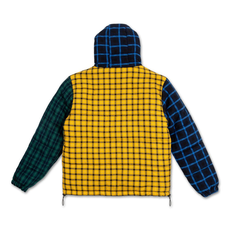 Pink Dolphin - Triple Plaid Puffer Jacket - Sixteen Bars