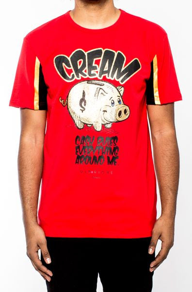 Vie Richie - Cream Pig Tee - Sixteen Bars
