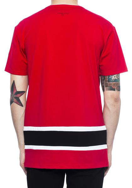 Vie Richie - Red Mouse Panel Tee - Sixteen Bars