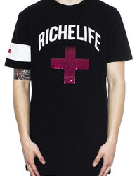 Vie Richie - Black Riche Plus Tee