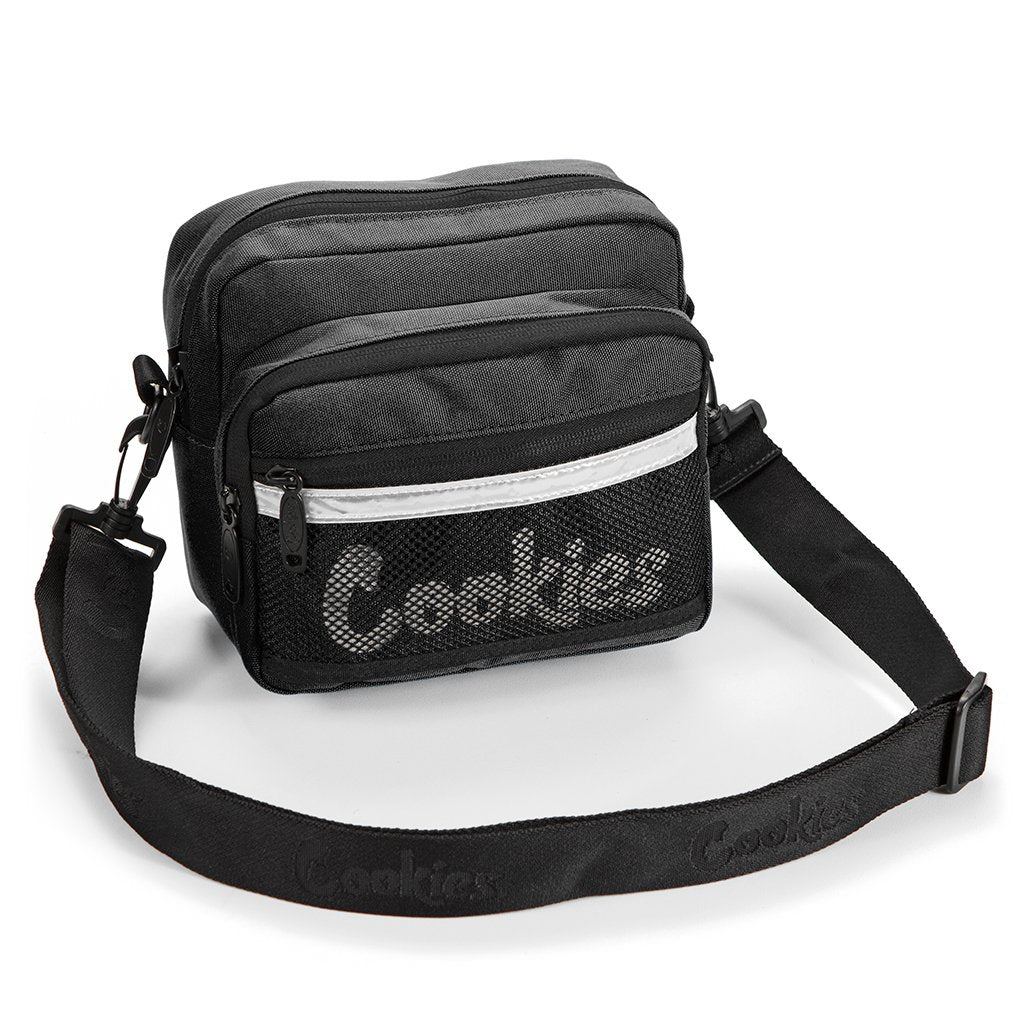 Cookies - Black Vertex Shoulder Bag - Sixteen Bars