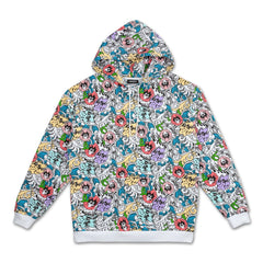 Pink Dolphin - Wave Floral Hoodie - Sixteen Bars