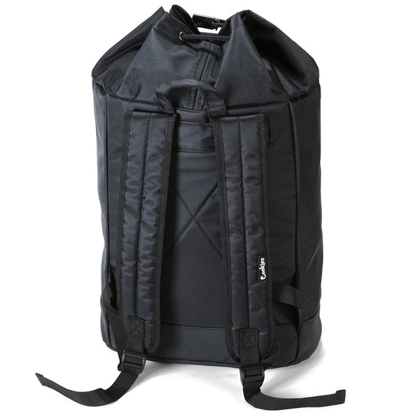Cookies - Black Weekender Duffle Backpack (SMELL PROOF) - Sixteen Bars