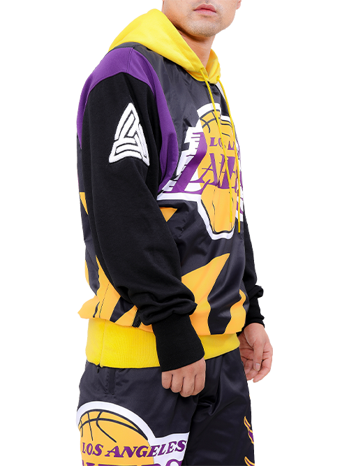 Black Pryramid - BP x Pro Standard Lakers Hoody - Sixteen Bars