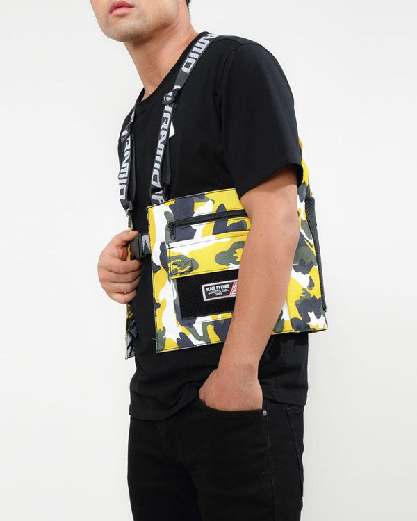 Black Pyramid - Yellow Camo Military Vest