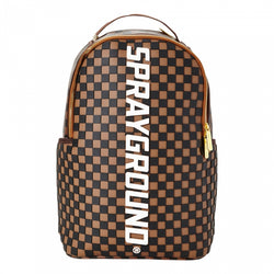Sprayground  - 3D Molded Rubber Checkered Backpack - Sixteen Bars