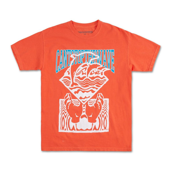 Pink Dolphin - Orange Cant Stop The Wave Tee - Sixteen Bars