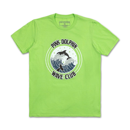 Pink Dolphin - Green Club Crest T-Shirt - Sixteen Bars