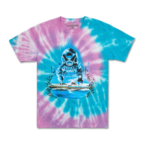 Pink Dolphin - Cave Diver T-Shirt - Sixteen Bars