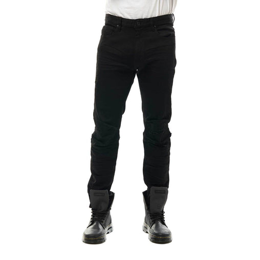 Smoke Rise - Jet Black Slim Fit Denim - Sixteen Bars
