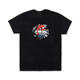 Pink Dolphin - Black Summer Waves Tee