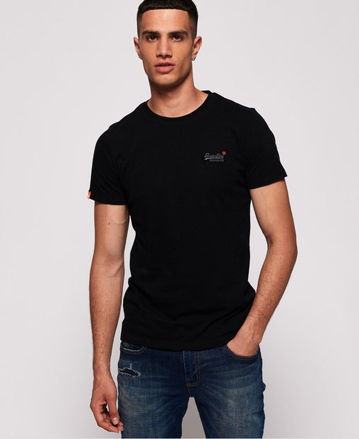 Superdry - Black Orange Label Tee - Sixteen Bars
