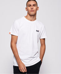 Superdry - White Orange Label Tee - Sixteen Bars