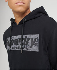 Superdry - Black Camo International Hoodie - Sixteen Bars