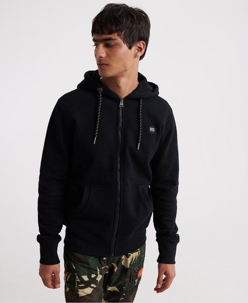 Superdry - Black Collective Zip Hoodie - Sixteen Bars