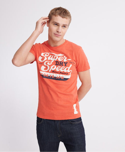 Superdry - Red Highway T-Shirt - Sixteen Bars