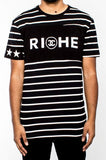 Vie Riche - Black Riche Double C Tee