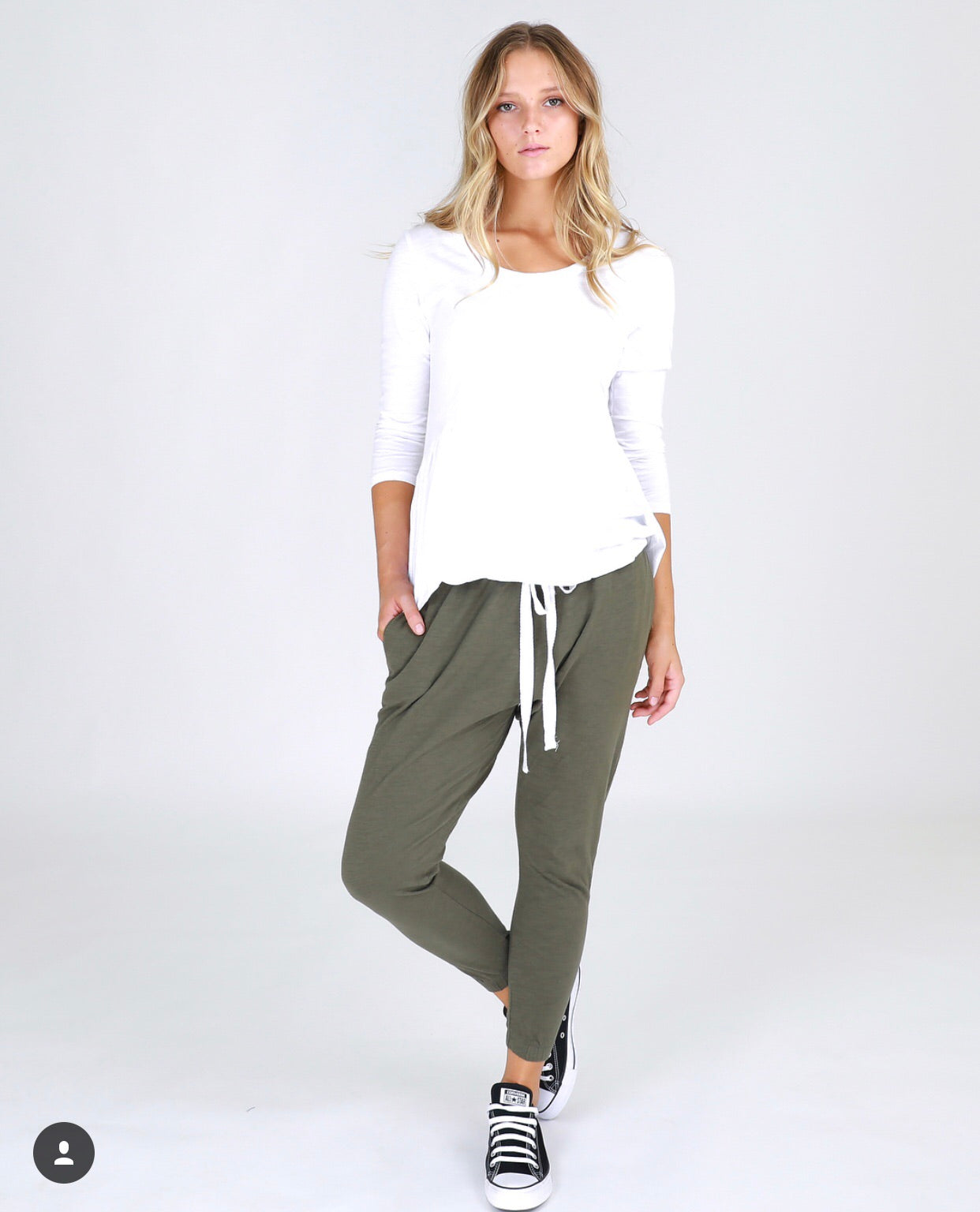 Bondi Drop Crutch Pants