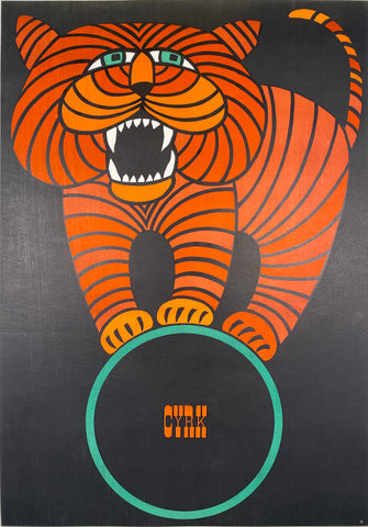 CYRK - Vintage Polish Poster 1966 by Hilscher