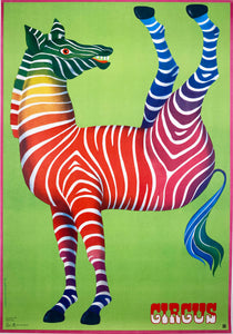 CYRK - Vintage Polish Poster 1979 by Hilscher