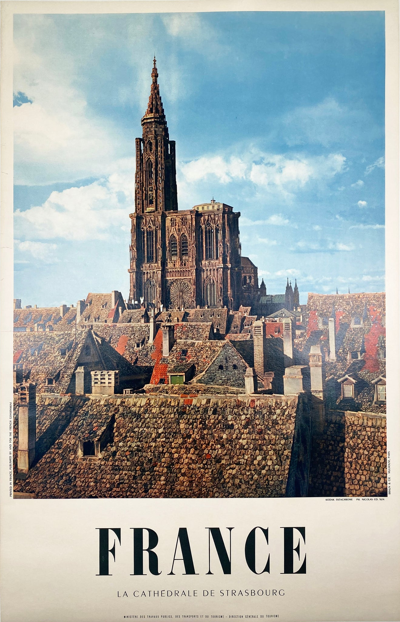 France - La Cathedrale de Strasbourg