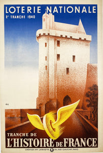 Loterie Nationale - Vintage French poster 1940