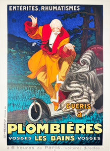Plombiéres Les Bains - Vintage French Poster 1931 by D'ylen