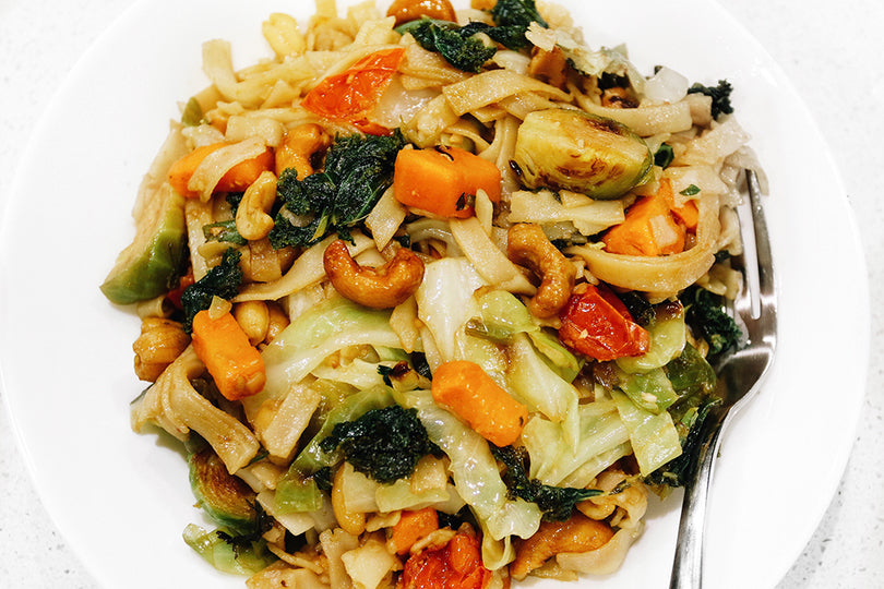 Vegetable Cashew Thai Recipe