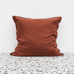Bamboo Linen European pillowcase - Clay