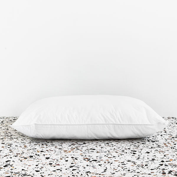 High Loft Medium Pillow - White