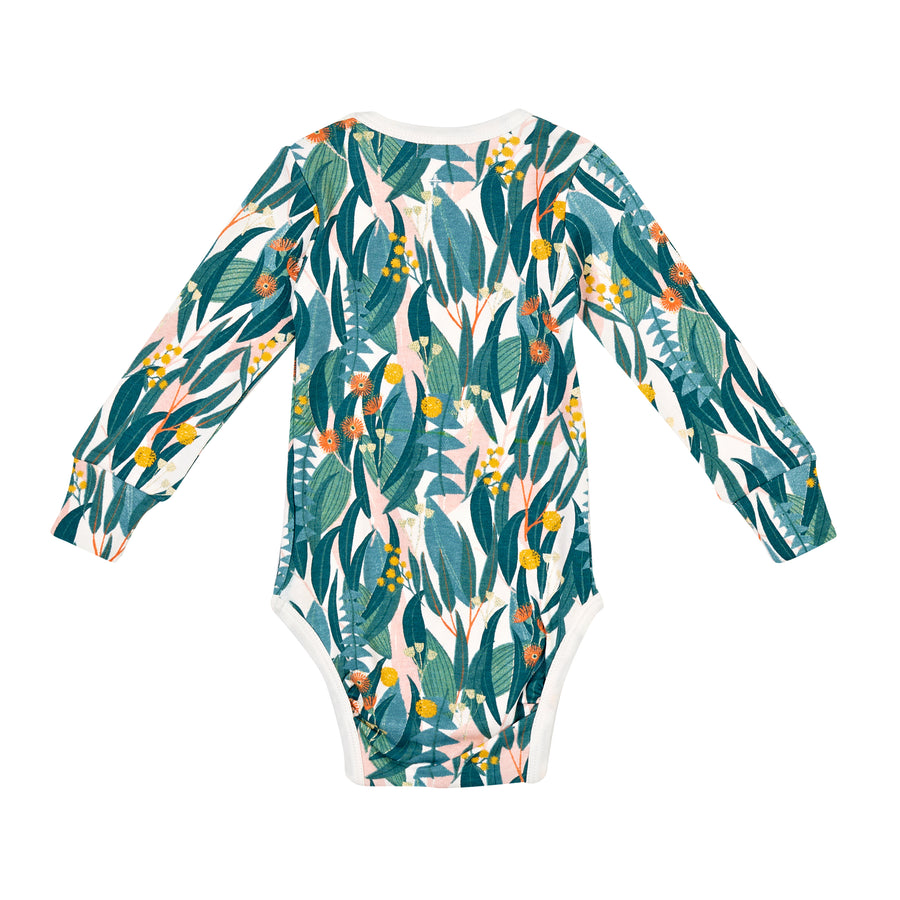 G+A Bushland Long Sleeve Bodysuit - Multi