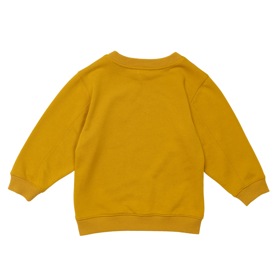 G+A Carlson The Cockatoo Sweater - Gold