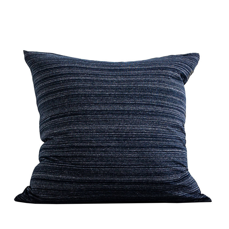 Cotton Jersey European Pillowcase - Navy Heather