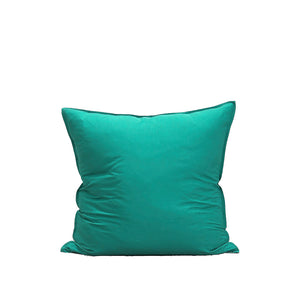 Bamboo Linen European Pillowcase-Sea Blue