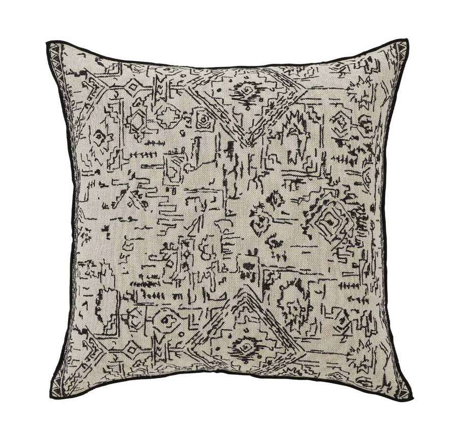 Malbec cushion - Onyx
