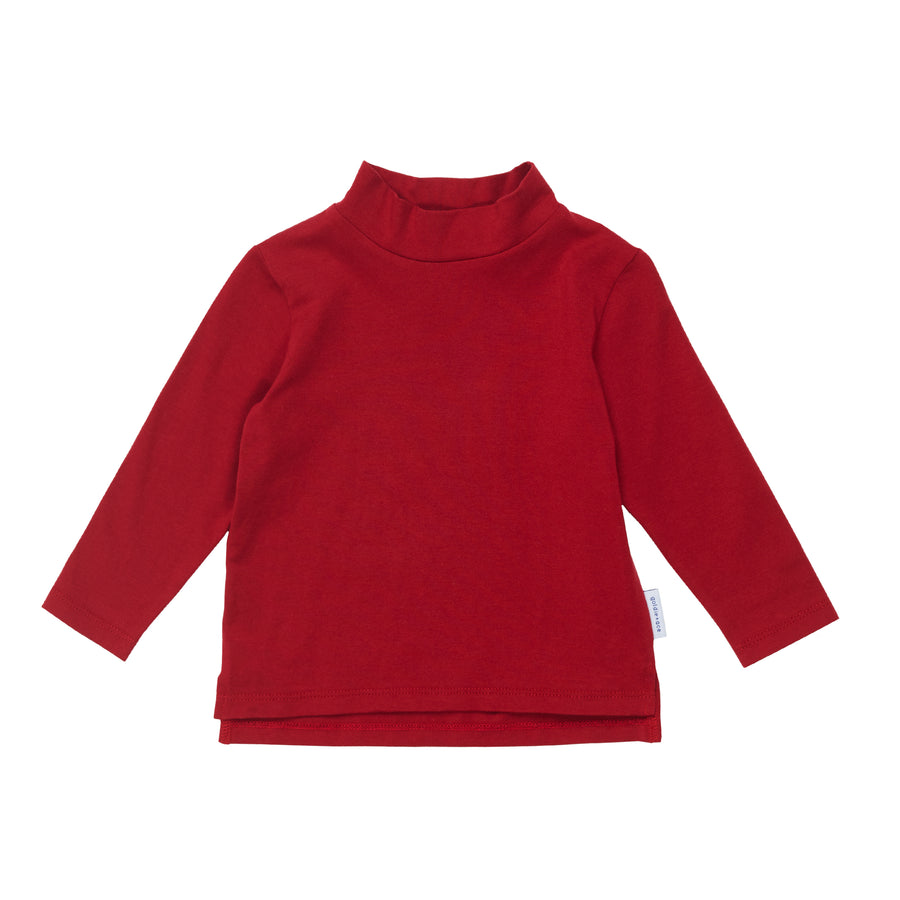G+A Mini Skivvy Top - Pompeian Red