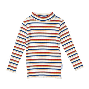 G+A Mini Skivvy Top - Stripe Multi