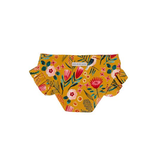 Native Garden Bikini Bottom Honey