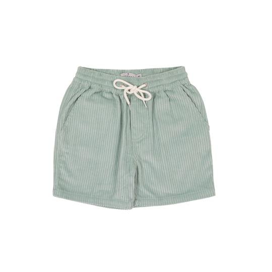 Noah Corduroy Shorts Light Blue