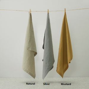Pure Linen Tea Towels 2pcs pack