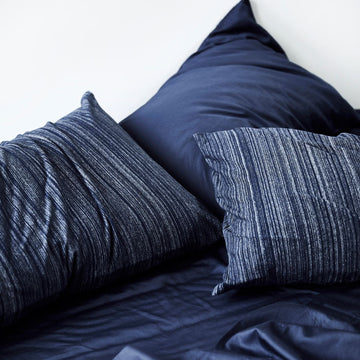 Extra Soft Washed Sateen European Pillowcase - Indigo