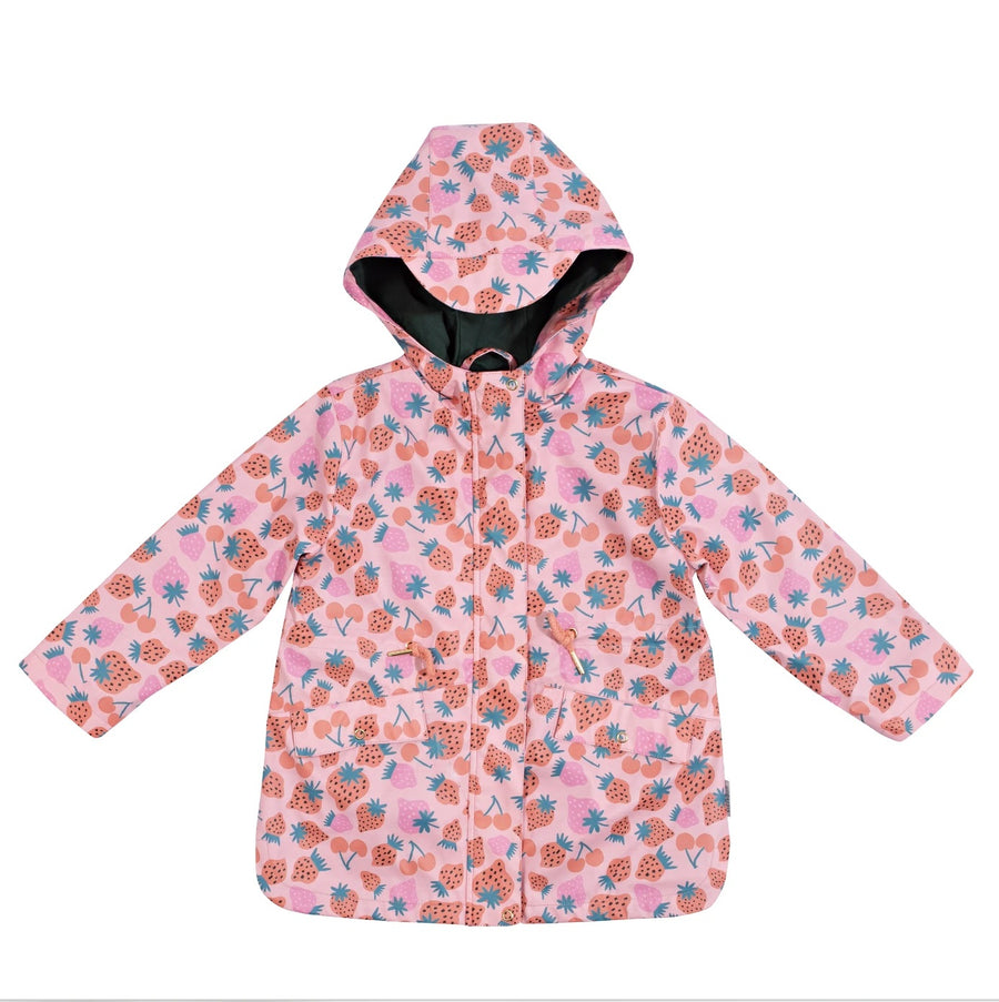 Strawberry Patch Raincoat