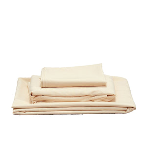 Bamboo Linen Sheet set - Bisque