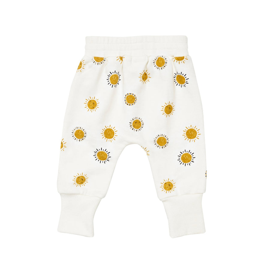 G+A Sunshine Printed Sweatpants - Milk