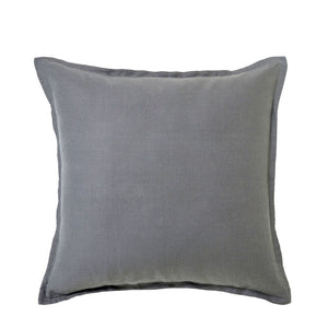 100% Linen European Pillowcase - CHARCOAL