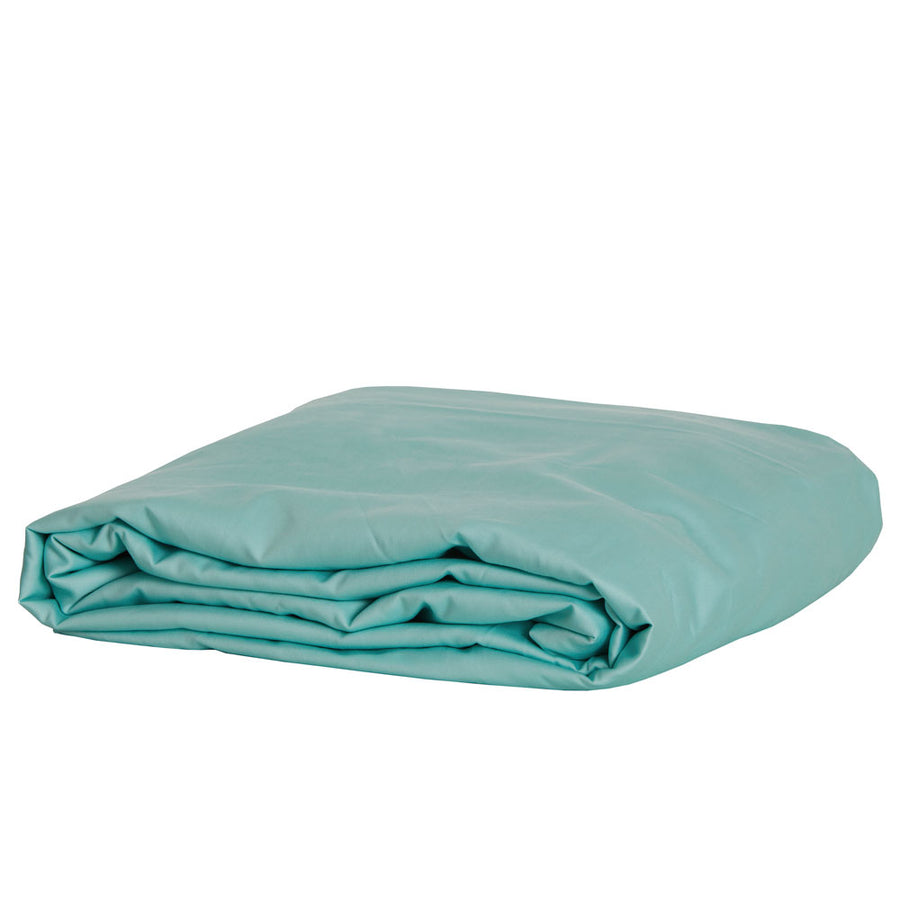Bamboo Cotton Fitted Sheet - AQUA