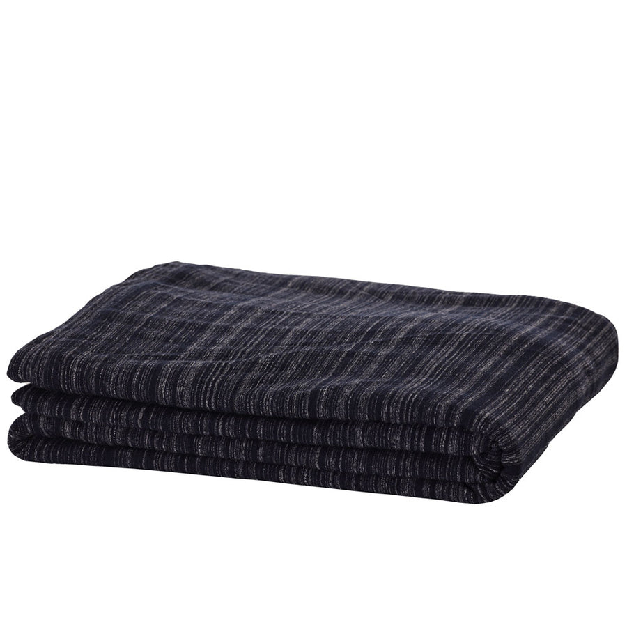 Cotton Jersey Flat sheet - Navy Heather