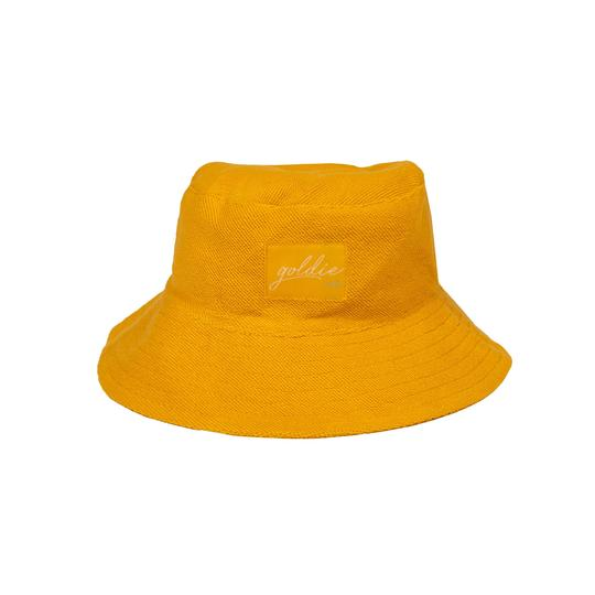 Goldie Terry Towelling Bucket Hat Marigold